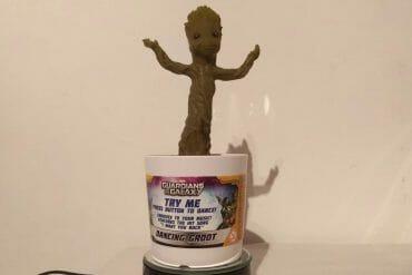 Weihnachtstipp: Dancing Baby Groot Figur