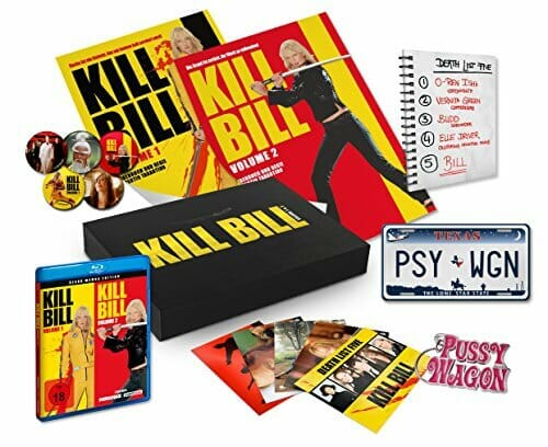 Kill Bill Volume 1 und 2 - Black Mamba Edition - Ultimate Fan Collection