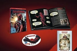 Deadpool Collectors Edition inkl. Booklet und Kinoticket