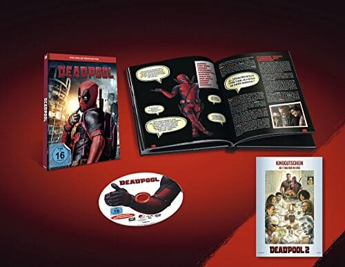 Deadpool Collectors Edition inkl. Booklet und Kinoticket