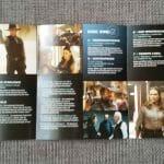 Westworld Staffel 1 Digipack Folgenübersichtsblatt