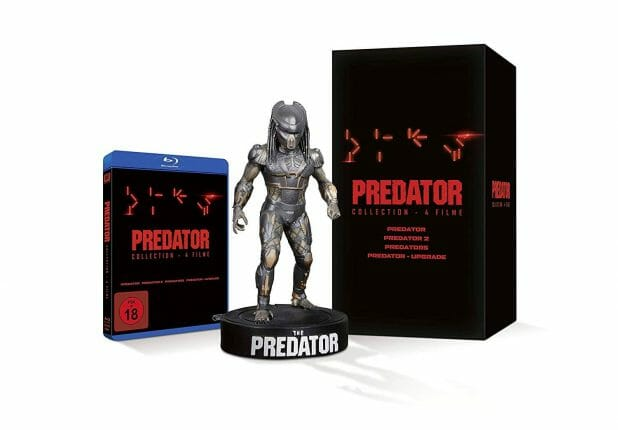 Predator 1-4 Blu-ray Box