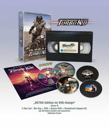 Turbo Kid - VHS RETRO-Edition
