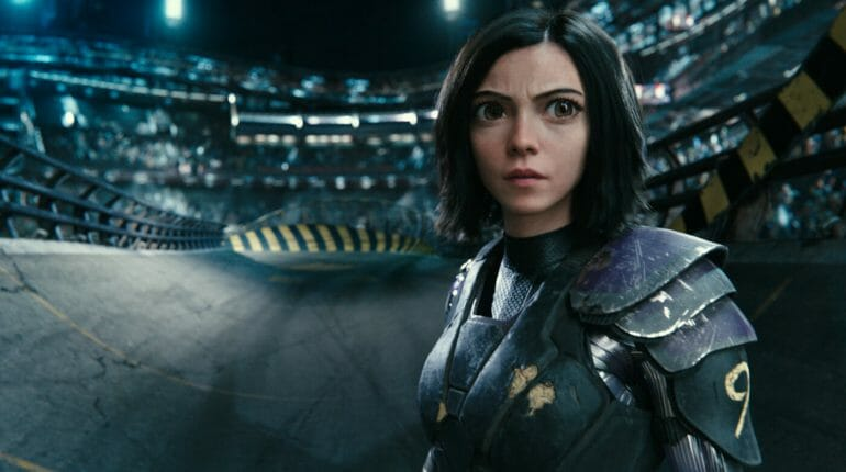 Alita Battle Angel Szenebild