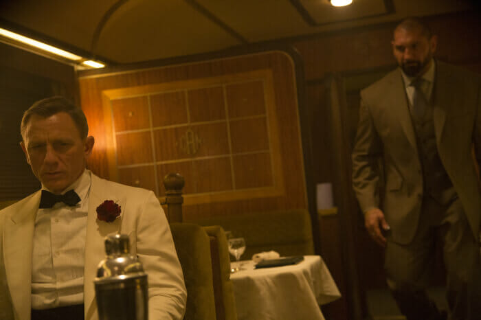 James Bond Spectre Szenebild