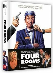 Four Rooms - Limited Uncut Edition wattiertes Mediabook
