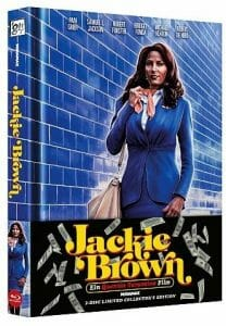 Jackie Brown - Limited Uncut Edition wattiertes Mediabook