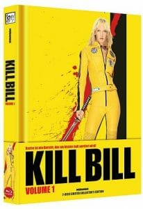 Kill Bill - Limited Uncut Edition wattiertes Mediabook