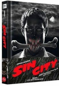 Sin City - Kino & Recut Fassung - Limited Uncut Edition wattiertes mediabook
