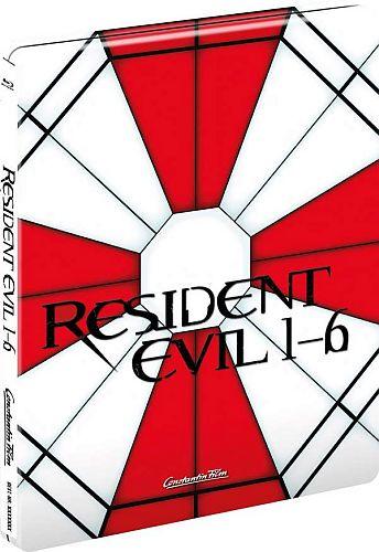 Resident Evil 1-6 Steelbook