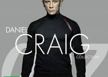 James Bond Daniel Craig Collection (4 UHD & 4 Blu-ray)